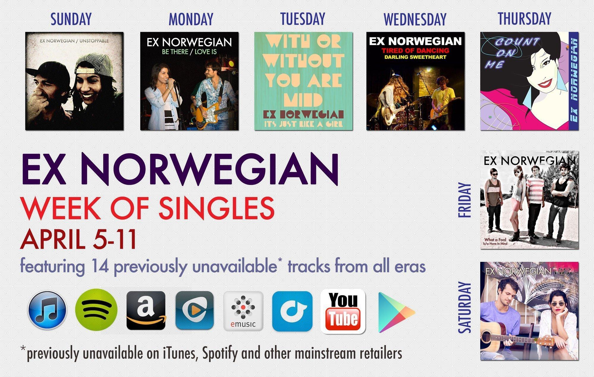 Ex-Norwegian-Week-of-Singles