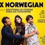 Ex Norwegian No Sleep album release show flyer