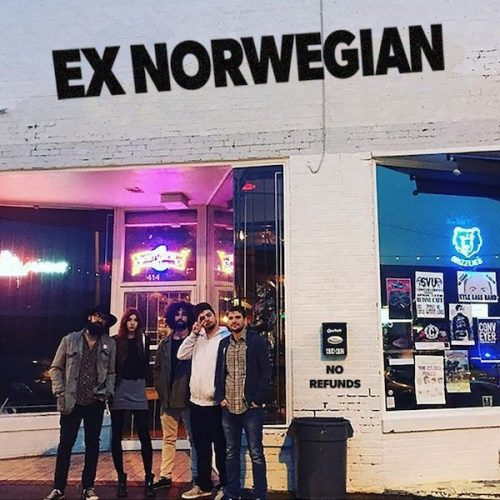 Ex Norwegian - No Refunds live album cover